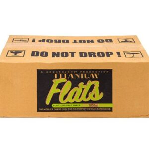 Titanium Flats Coals - 10 KG Lounge Box