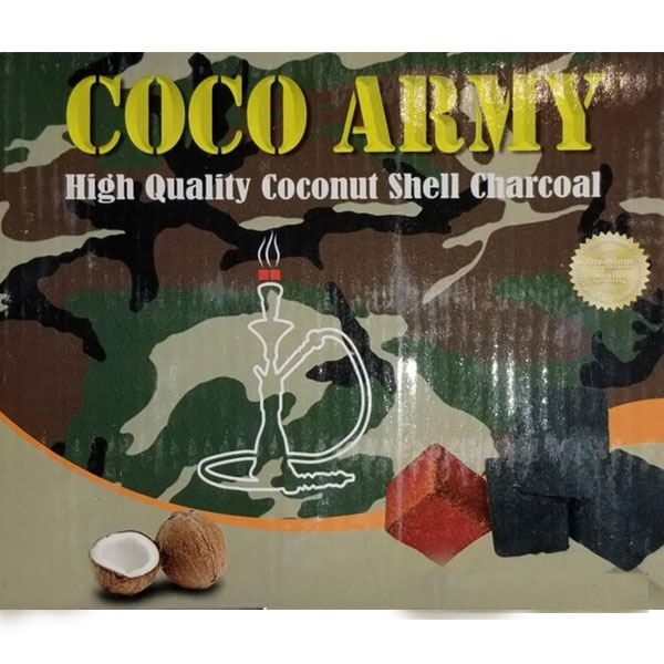 Coco Army Coconut Charcoal (90 pieces - Small Cubes)