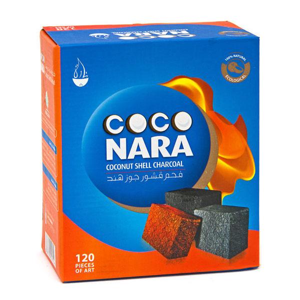 Coco Nara Natural Hookah Coals (120 Pieces - FLATS)