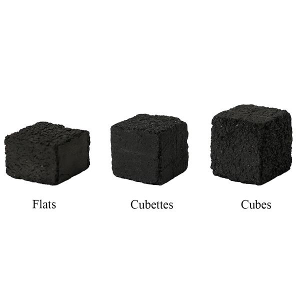 Titanium Cubettes Hookah Coals - 120 Piece Box
