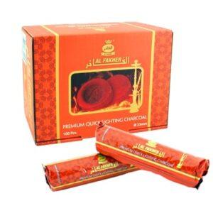 Al-Fakher Charcoals 33mm - 1 box (100 pieces)