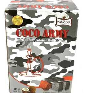 Coco Army Coconut Charcoal (108 pieces - Flats)
