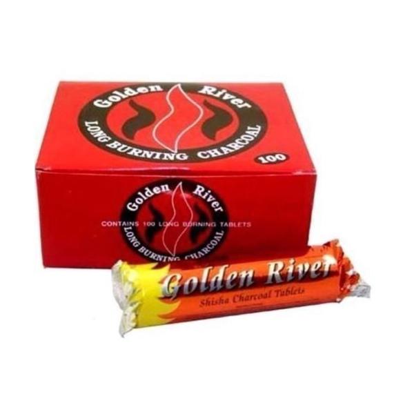 Golden River Charcoals 33mm - 1 box (100 pieces)